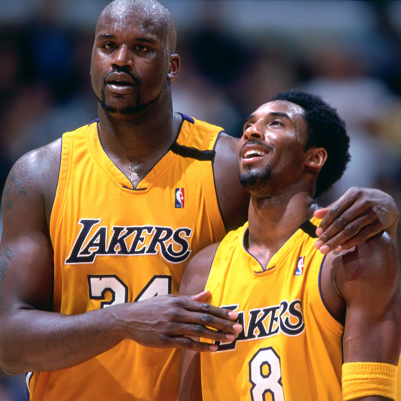 Kobe Bryant in a game during his rookie season, stopped passing the ball to Shaq after he kept missing his free throws.