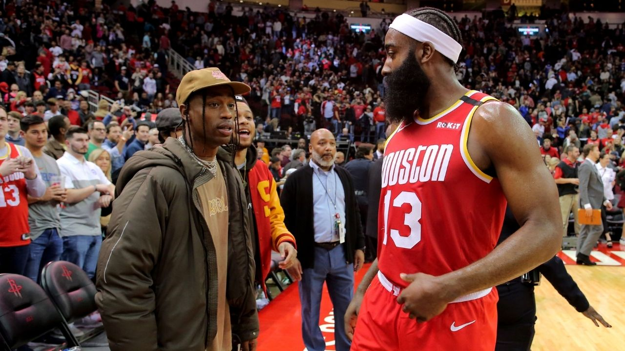 """""""Travis Scott is the rapper who resembles me the most"""": When James Harden picked out fellow H-Town legend as a hip hop artist like himself"""