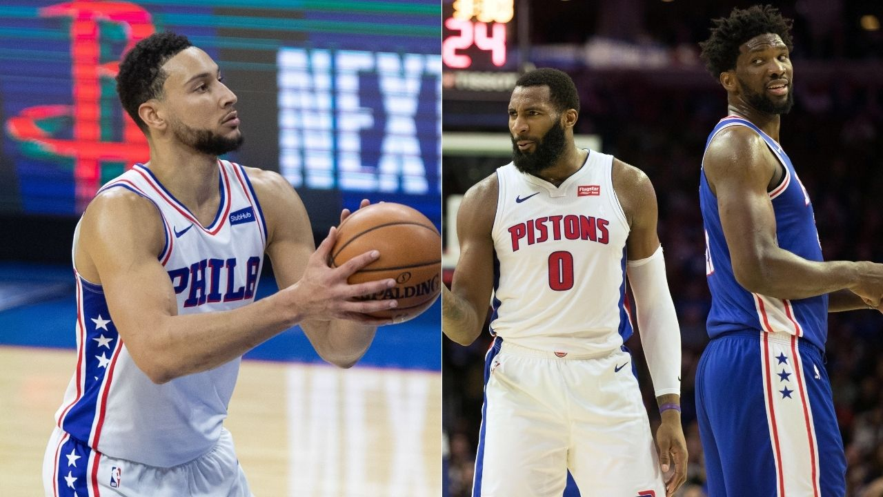 Joel Embiid throws subtle shade at Ben Simmons while praising his new teammate and former Pistons All-Star