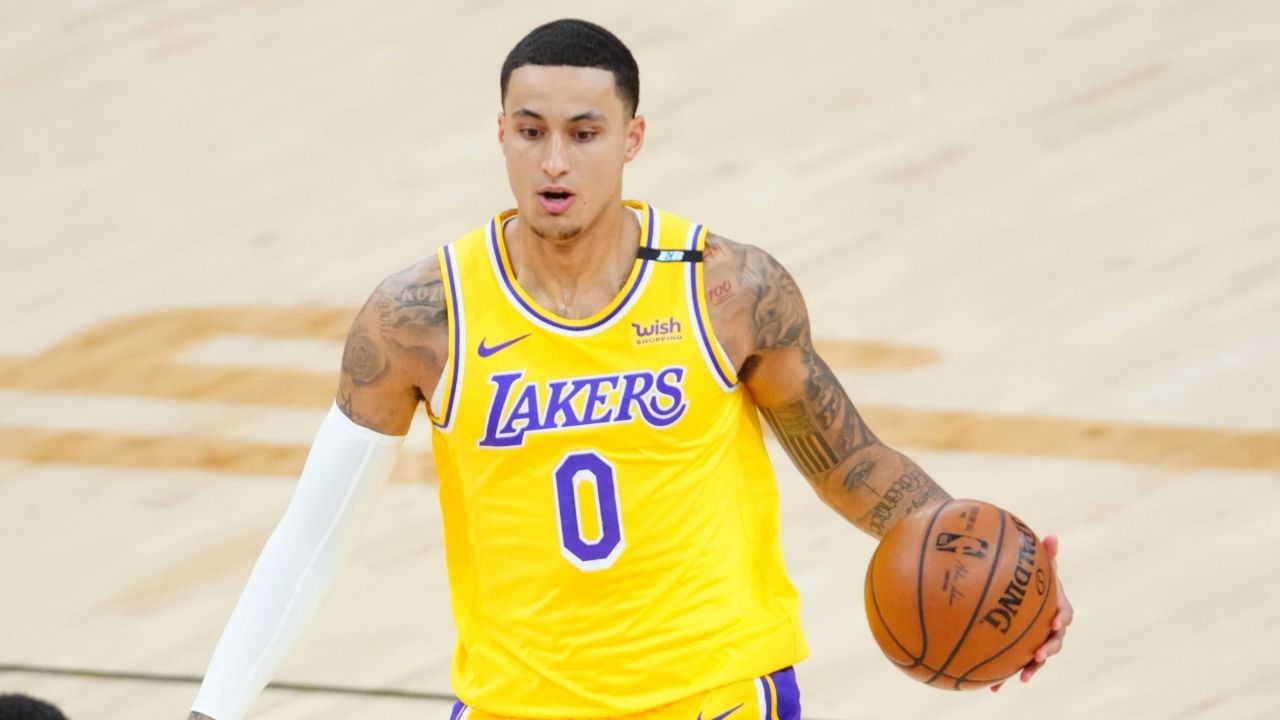 """""""Kyle Kuzma has more tweets than NBA points"""": Former Lakers forward lambasted by Wizards fans for displaying low basketball IQ and high turnover rates in preseason"""