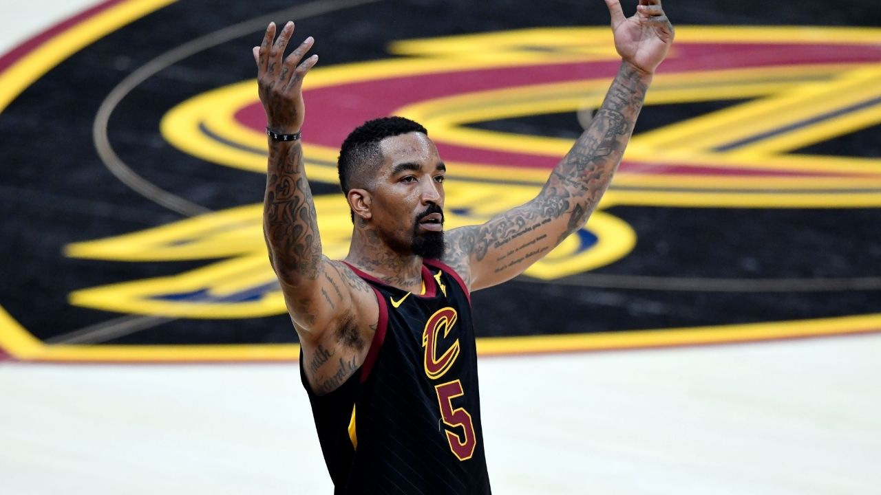 """""""Got my fade-away from 2K"""": When JR Smith hilariously revealed how the videogame inspired his shooting right after LeBron James gave tribute to Jordan and Magic"""