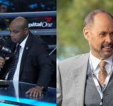"""""""We saw how you did on who he play for"""": Ernie Johnson roasts Charles Barkley for his constant failed attempts at Inside the NBA's popular EJ's Neat-O Stat segment"""