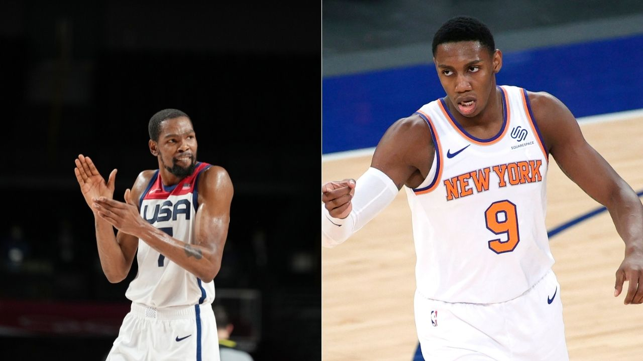 """""""RJ Barrett can play a long time in the NBA"""": When Kevin Durant dished out some huge praises while breaking down the Knicks guard's game before his Duke days"""