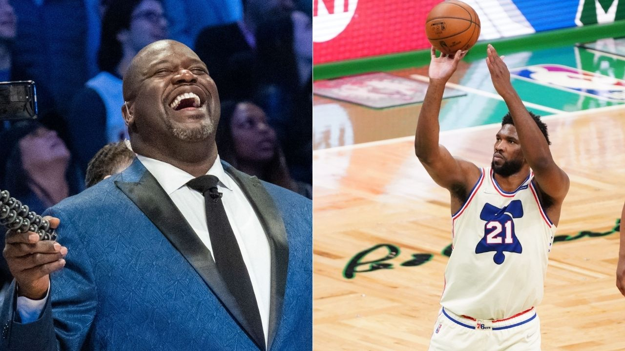 """""""I wouldn't use the D word for Joel Embiid"""": Shaquille O'Neal hints that Sixers superstar needs to brush up his post skills despite being elite already"""