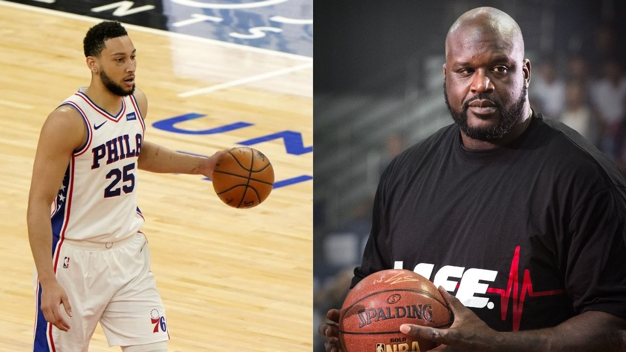 """""""Ben Simmons, take your a** to work if you want to pay for that $15 million house"""": Hall of Famer Shaquille O'Neal sounds off on disgruntled Sixers star reporting to Philadelphia"""