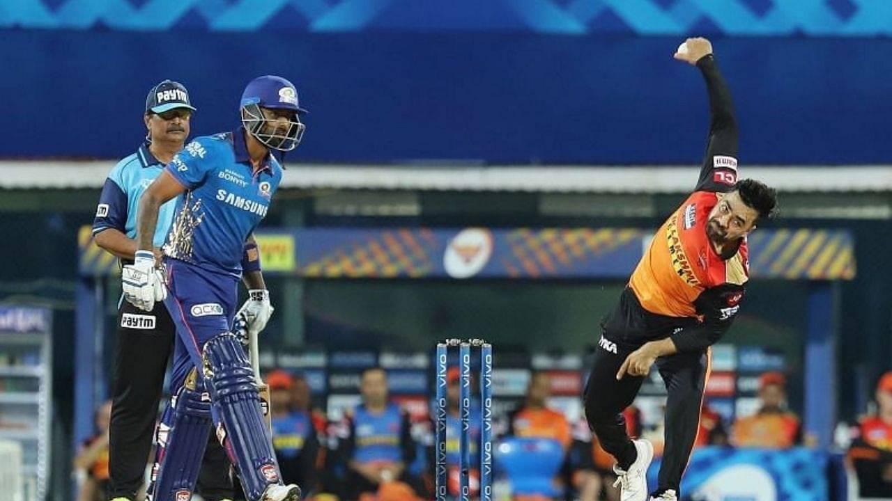 SRH vs Mumbai Head to Head in IPL history | Sunrisers Hyderabad vs Mumbai Indians stats | IPL 2021 Match 55