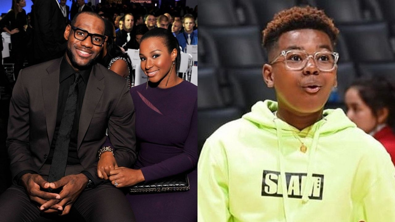 """""""Savannah James almost dunked against Bryce Maximus"""": How Savannah hilariously challenged LeBron James' second oldest in a game of HORSE"""