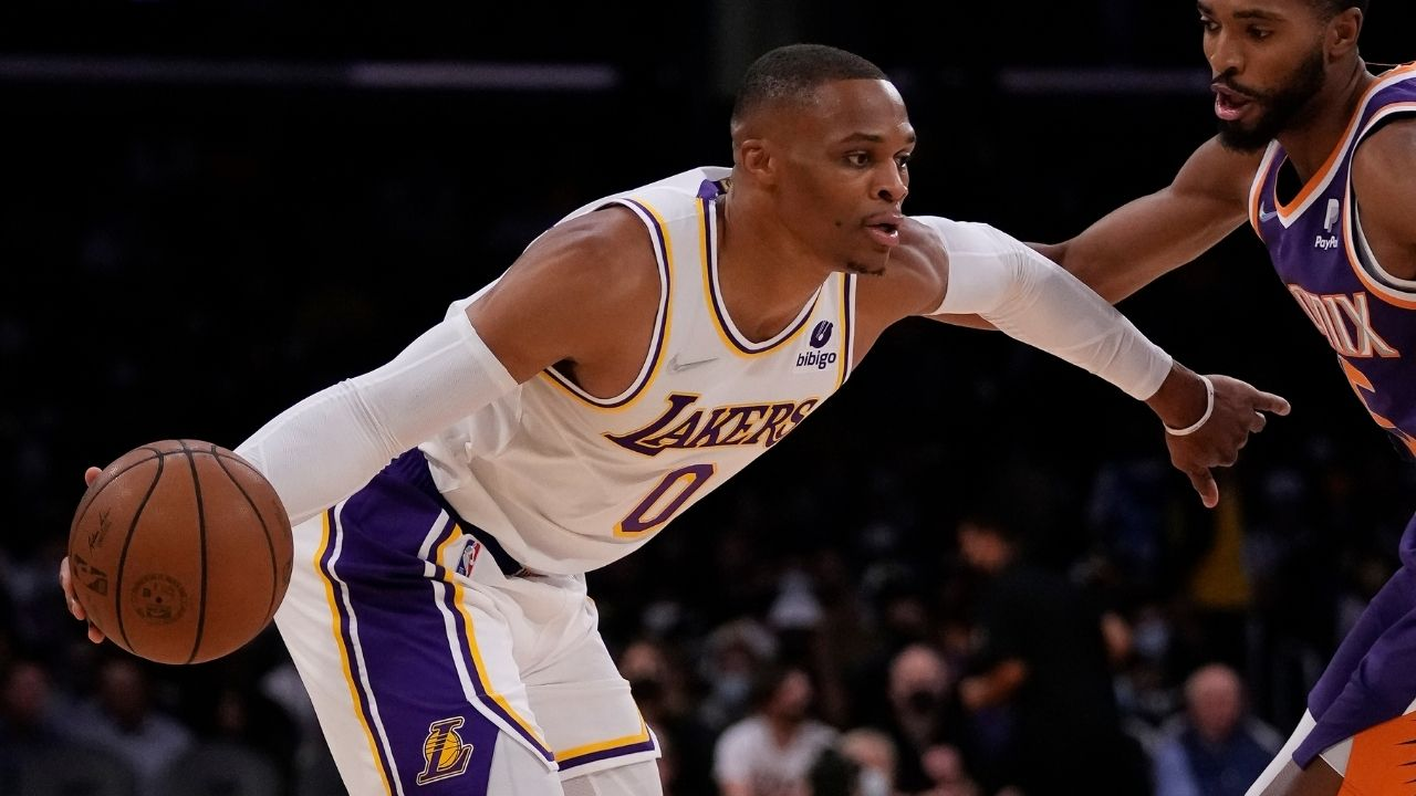 """""""Russell Westbrook is the worst superstar jump shooter I have ever seen"""": Skip Bayless relegates the Lakers guard to a 6th man role following atrocious performance against Warriors"""