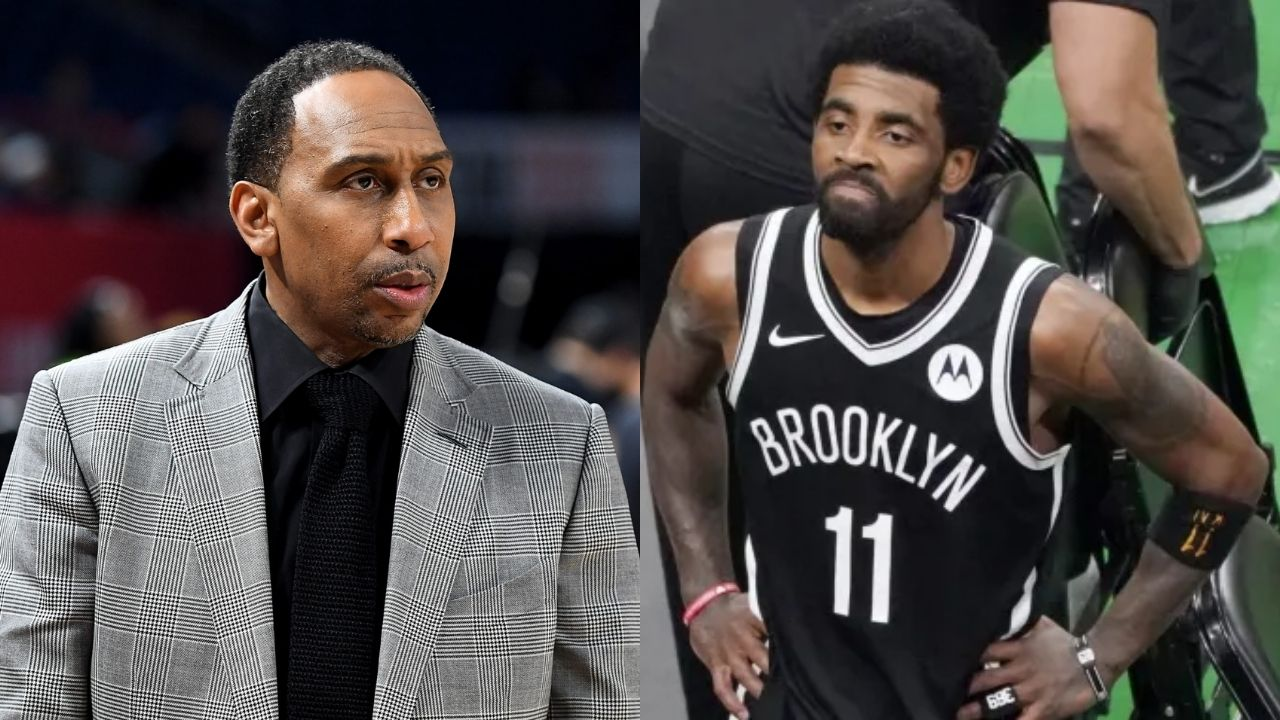 """""""Stephen A Smith is trying to become to Kyrie Irving, what Skip Bayless is to LeBron James"""": ESPN Analyst comments yet again, as the Nets' superstar hosts an Instagram Live"""