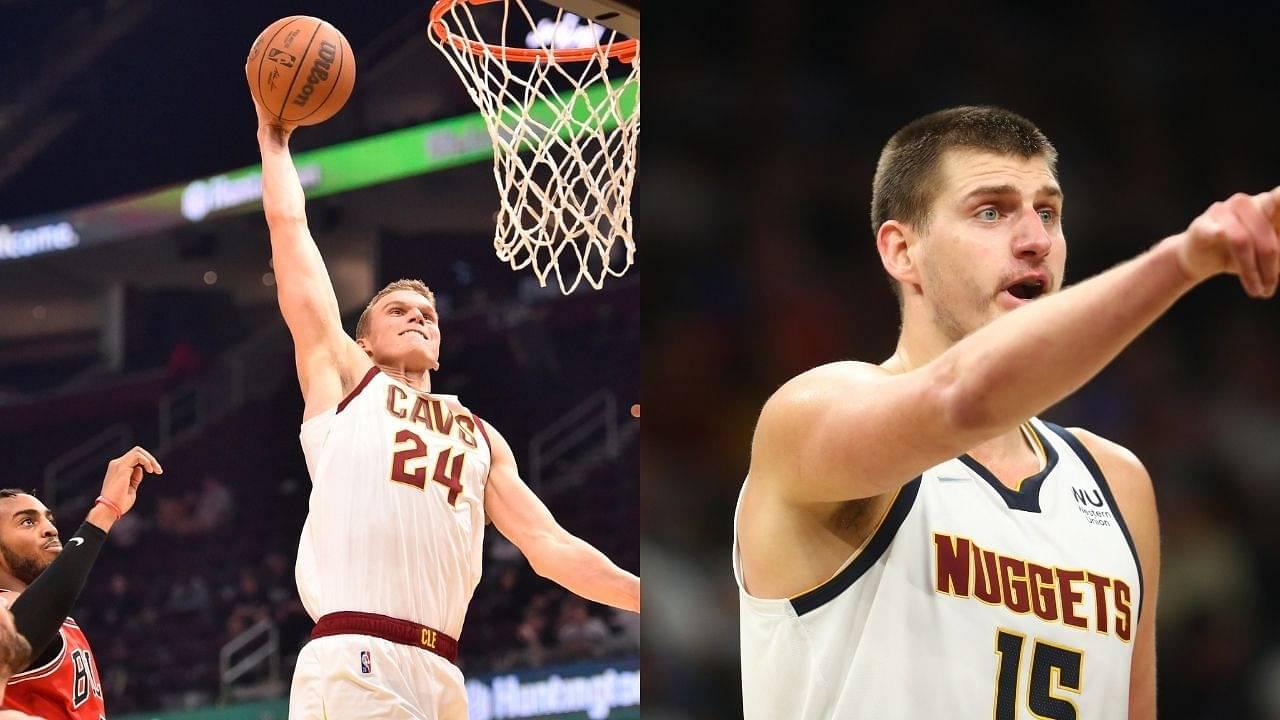 """Finland goes to war with Serbia"": Lauri Markkanen posterizes reigning MVP Nikola Jokic, exhibiting Kobe Bryant's Mamba mentality"