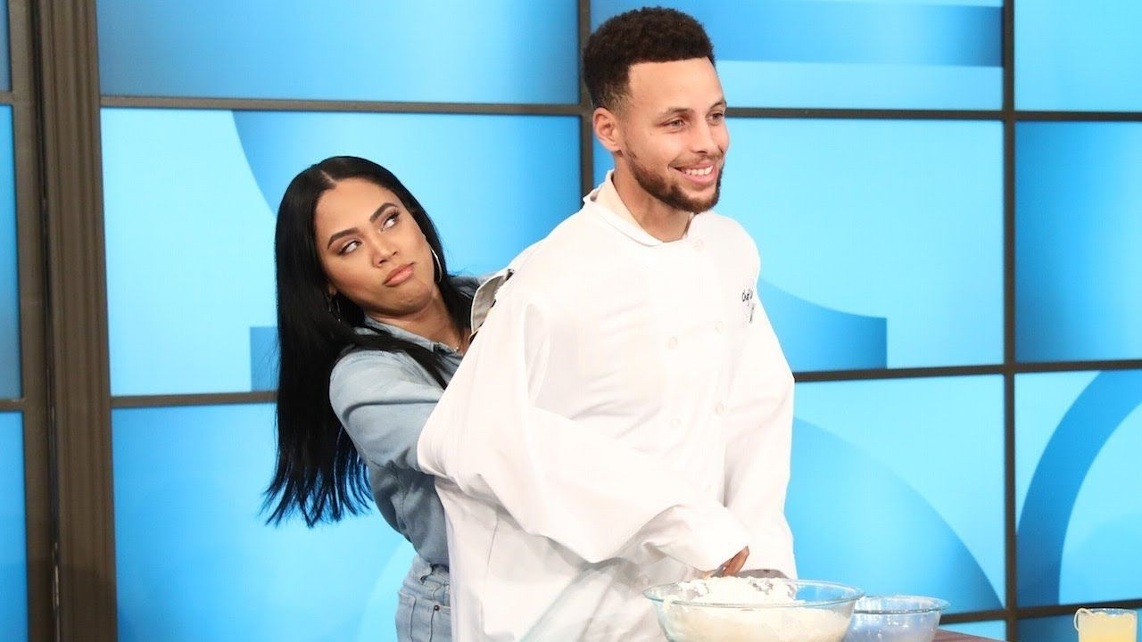 """""""That was Tequila?! I thought that was water!"""": When Ayesha Curry made Stephen Curry chug a glass of Tequila on The Ellen Show before the All-Star Game"""