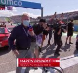 """""""I can do that cause I did"""": Martin Brundle peak awkward moment when snubbed by Tennis legend Serena Williams and famous Rapper Megan Thee Stallion"""