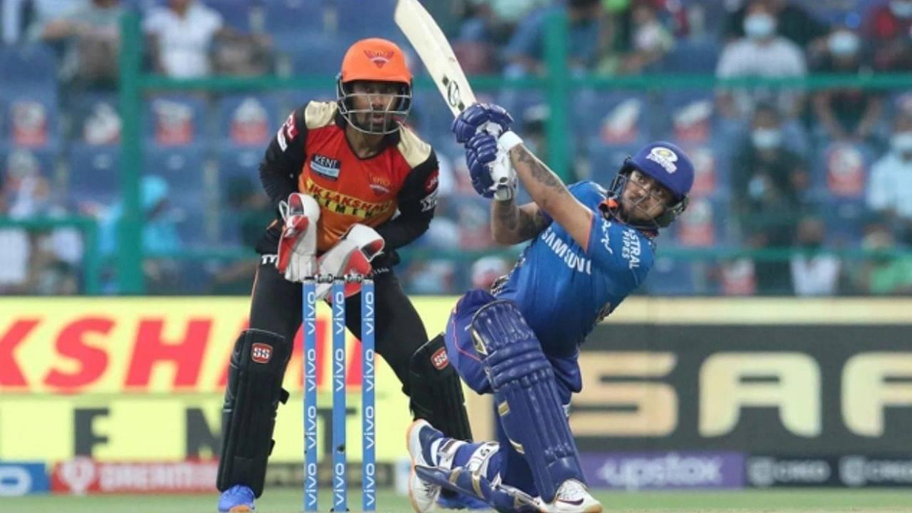 """This is barbaric"": Twitter goes berserk as Ishan Kishan scores fastest IPL 50 of IPL 2021 vs SRH"