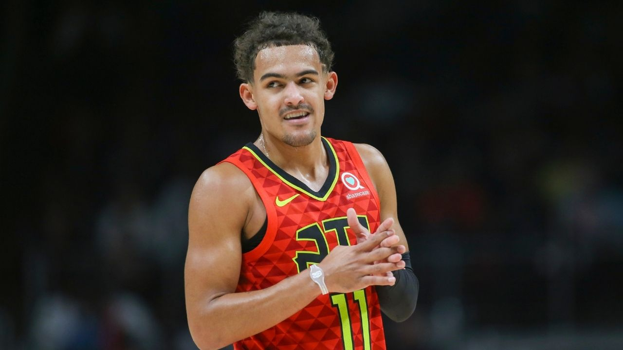 """""""My 9-year-old son pulled off a Trae Young move and dished in his championship game!"""": Hawks superstar makes fan's day with lovely tweet reply"""