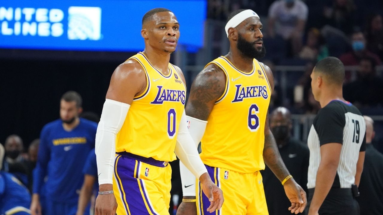 """""""LeBron James should be the PG over Russell Westbrook!"""": Skip Bayless criticized the Lakers' superstar over his bizarre turnovers and weak showing in preseason games"""