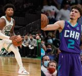 """""""He Can Get The House Of Highlights, We got the win"""": Marcus Smart responds to getting crossed over by LaMelo Ball in a Celtics OT win over the Hornets"""