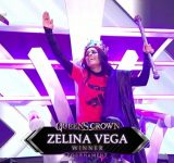 Zelina Vega reveals what Vince McMahon told her after winning the Queen's Crown tournament