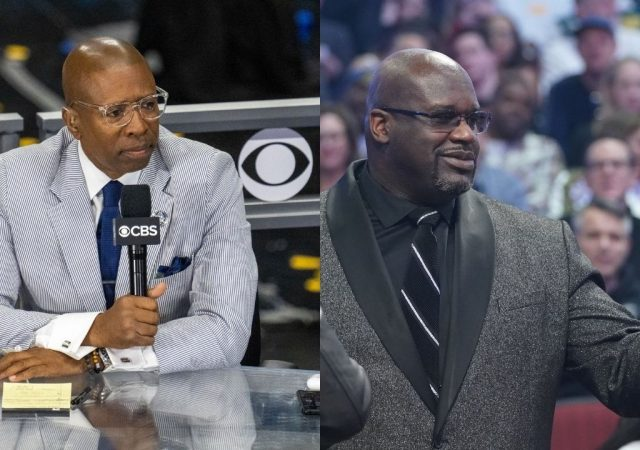 """""""Shaquille O'Neal handed Kenny Smith his first L of the season"""": The cast of Inside the NBA mock the former Rockets player for losing to the Lakers legend"""