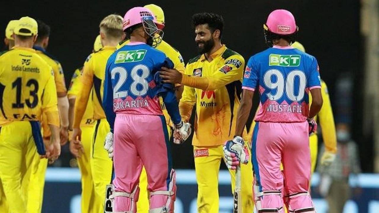 RR vs CSK Head to Head Records in IPL   Rajasthan Royals vs Chennai Super Kings   IPL 2021 Match 47