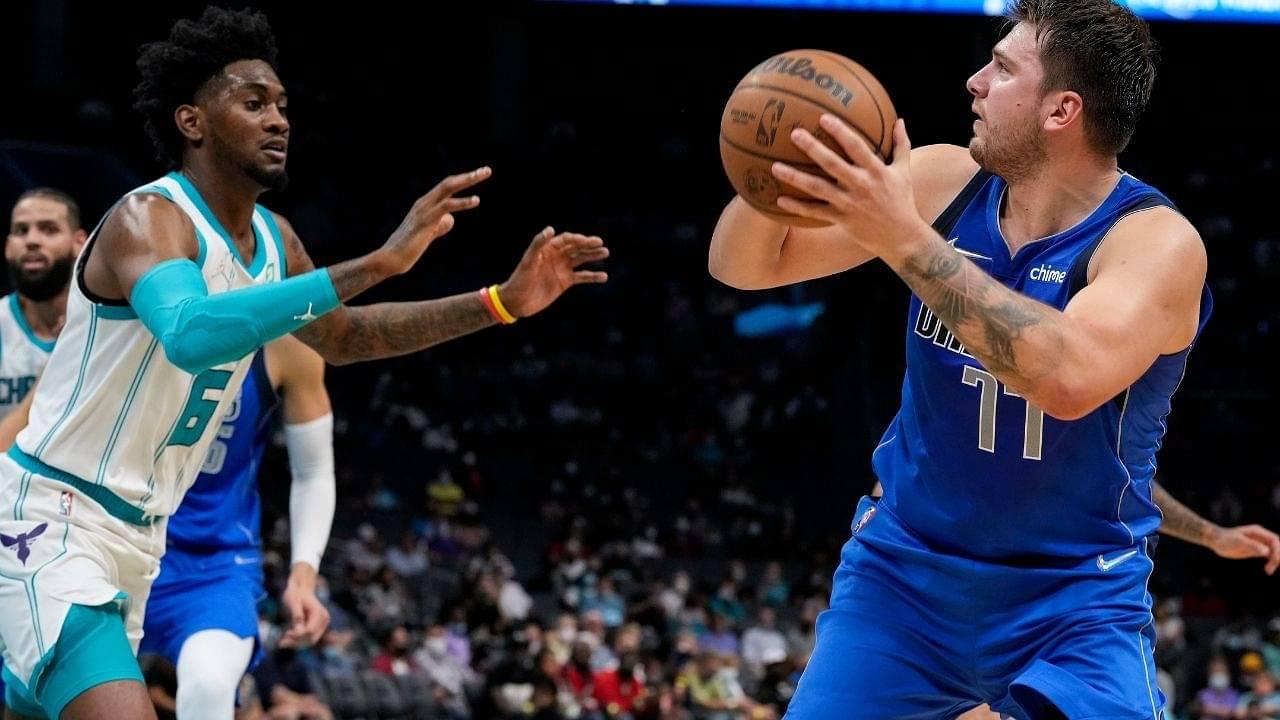 """Luka Doncic and the Mavericks woke up and chose violence!"": NBA Twitter trolls Michael Jordan's Hornets after suffering a horrendous 68-point preseason loss"