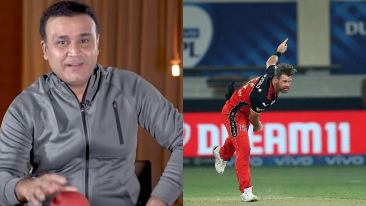 """""""Lucky charm khilana hai toh..."""": Virender Sehwag takes a dig at RCB and Dan Christian after KKR win IPL 2021 Eliminator"""