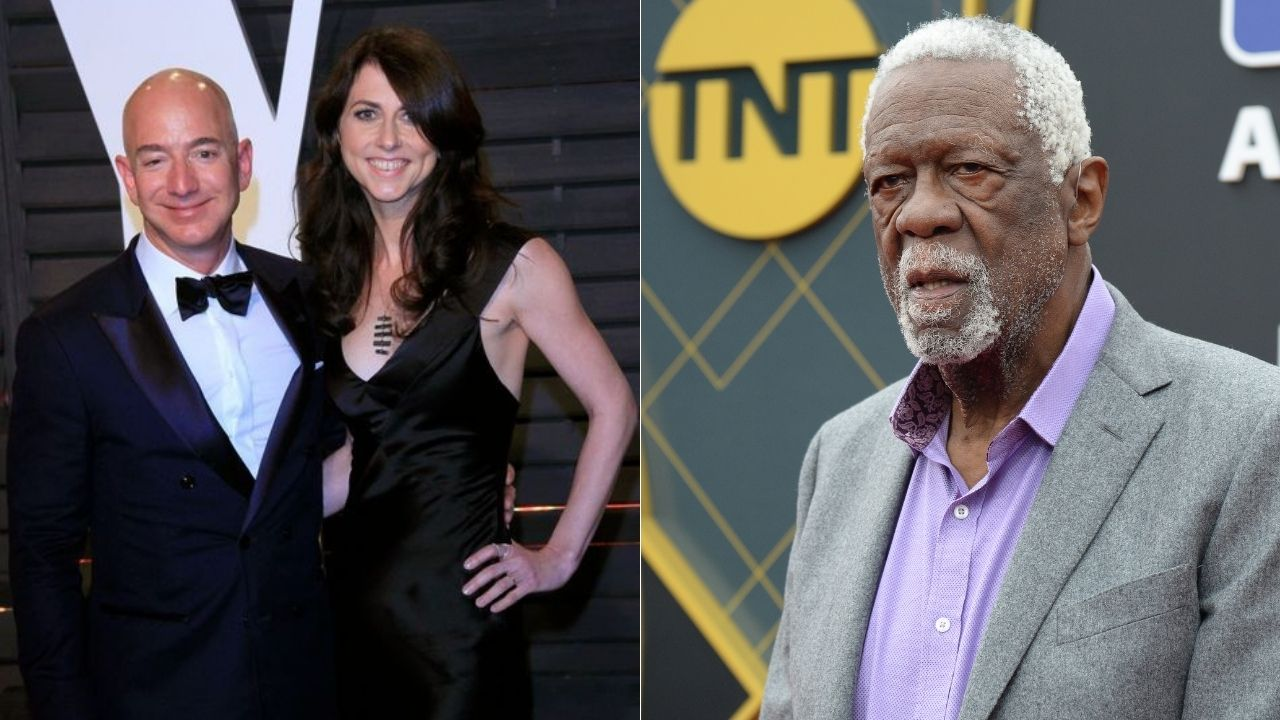 """""""Hey Jeff Bezos, sign me up for space tourism!"""": Celtics legend Bill Russell congratulates Bill Shatner after nonagenarian embarks on Blue Origin orbit with Amazon founder"""