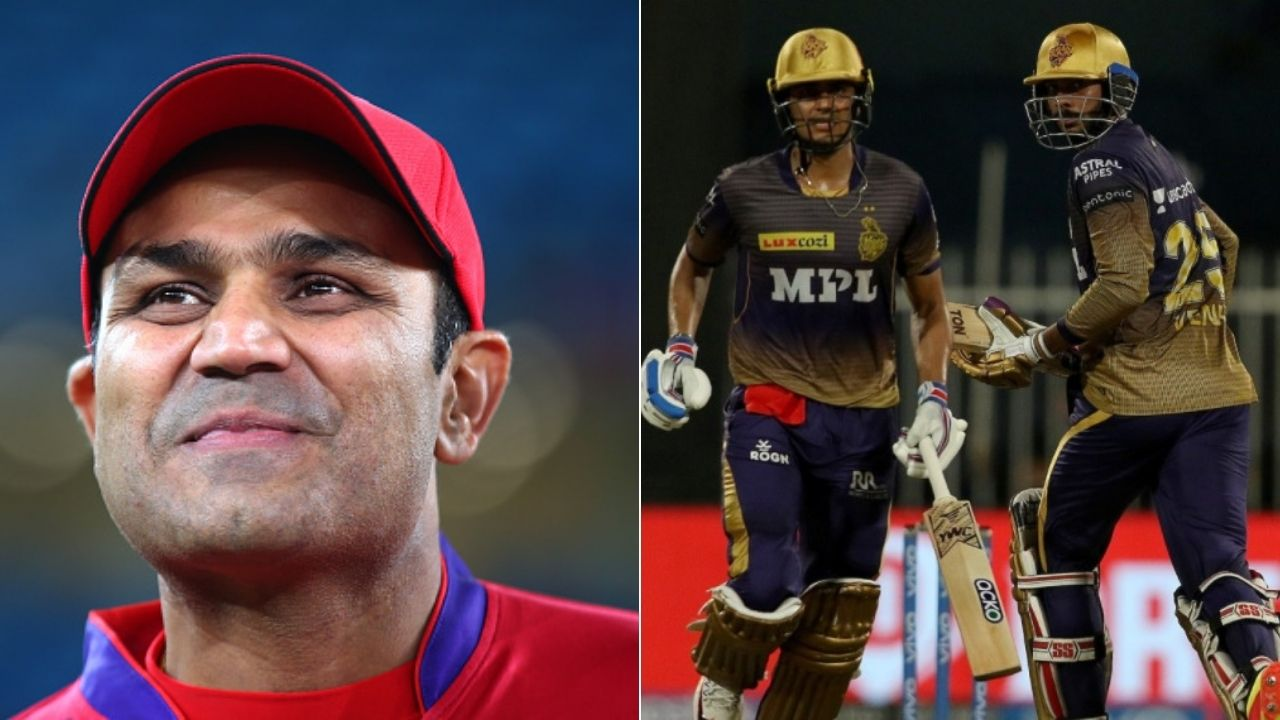 """""""Kolkata almost outdoing Punjab"""": Virender Sehwag taunts KKR after they almost make a mess of IPL 2021 Qualifier 2 vs Delhi Capitals"""