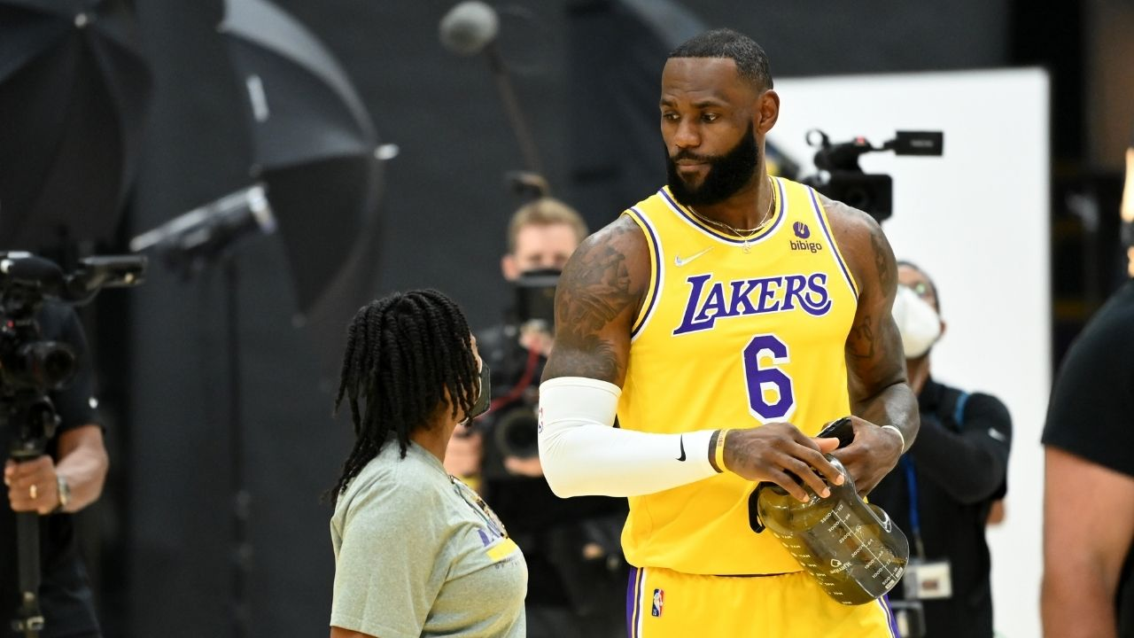 """""""LeBron James' Lakers are a lot like us!"""": James Harden points out Russell Westbrook and the King's biggest weakness along with some words of advice in recent interview"""