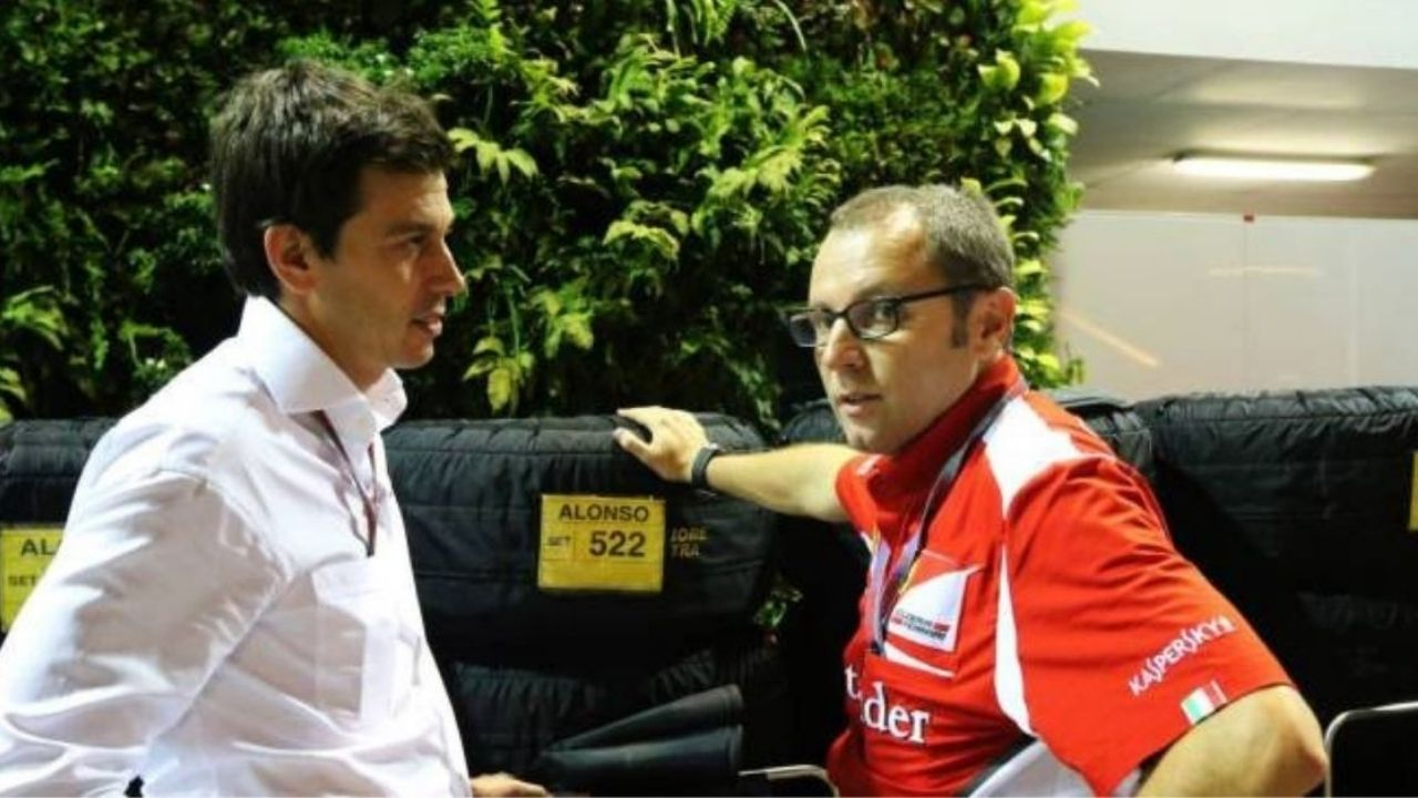 """""""I think we have the best man in charge"""" - Toto Wolff does a u-turn on F1 chief Stefano Domenicali after being concerned of his Ferrari roots earlier"""