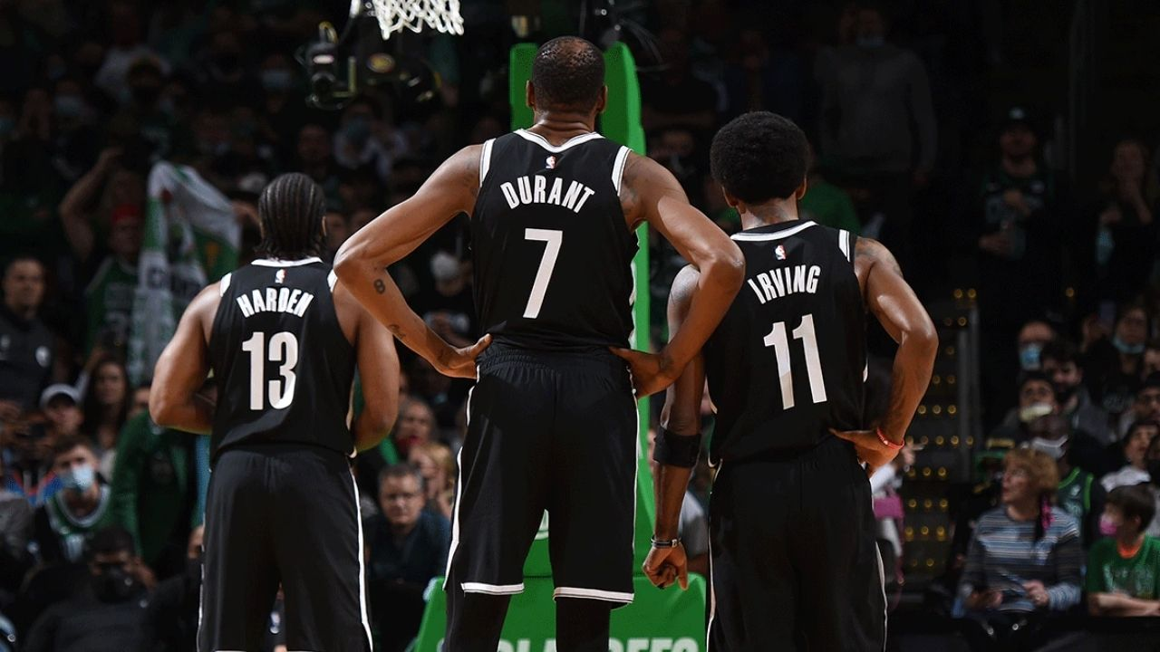 """""""Kevin Durant, James Harden, Joe Tsai, and Sean Marks will decide Kyrie Irving's fate"""": NBA Insider Adrian Wojnarowski reveals the Nets' superstars would be involved in deciding whether Uncle Drew can be a part-time player or not"""