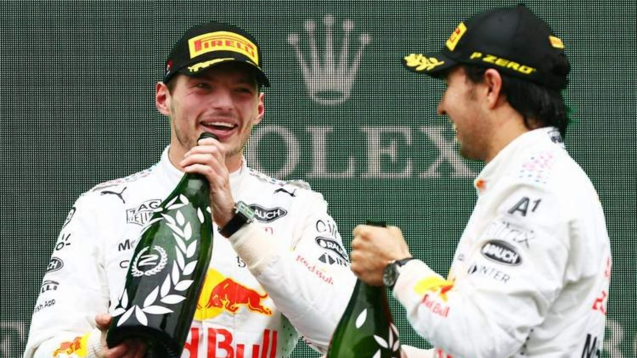 """""""I'll get them to you in Mexico""""– Max Verstappen promises to reward Sergio Perez for all his help in Turkey"""