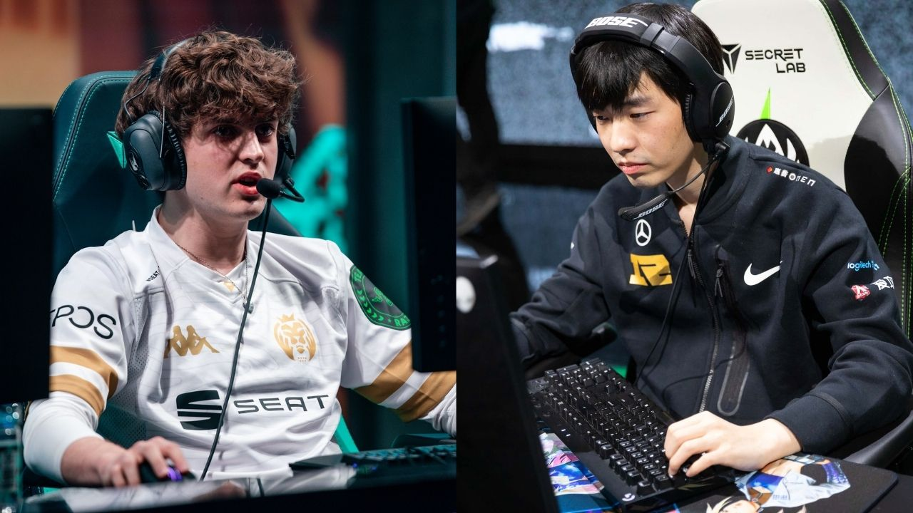 MAD Lions Carzzy and RNG Cryin at MSI
