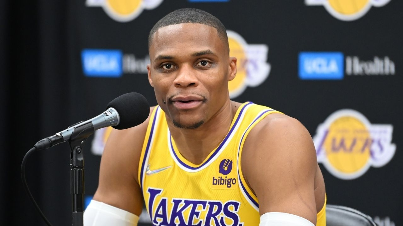 """""""I'm going to do it all with LeBron James, for Kobe Bryant!"""": Russell Westbrook makes a heartfelt vow dedicated to the Black Mamba ahead of his Lakers debut"""
