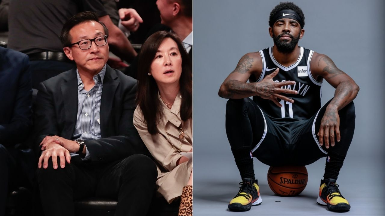 """""""Kyrie Irving and Joe Tsai met at his La Jolla home, the message was sent"""": Brian Windhorst clarifies how Nets front office arrived at the decision to freeze their All-Star point guard"""