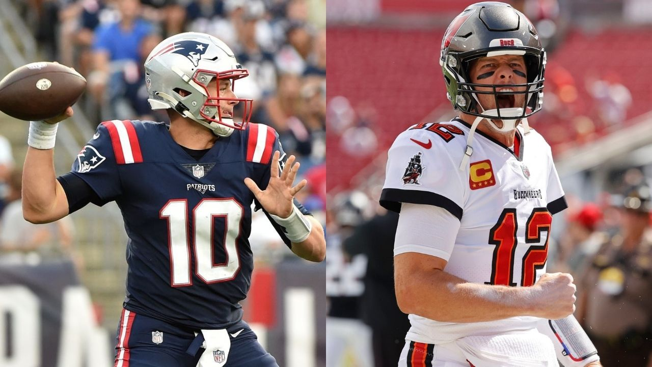 """""""I Haven't Seen Mac Jones Much At All"""": Tom Brady Strangely Takes A Sly Dig At Patriots QB To Tone Down Week 4 Homecoming Matchup"""