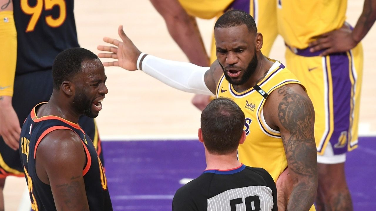 """""""Couldn't have said it any better Draymond Green"""": LeBron James shows love to the Warriors star following his controversial statement on unvaccinated players"""