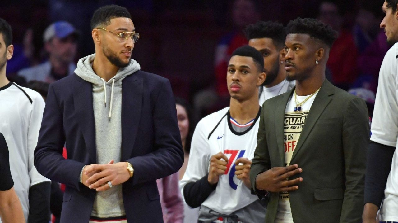 """""""Jimmy Butler's time at Minnesota isn't the same as Ben Simmons', his teammates had his back"""": Comparing Ben Simmons and Jimmy Butler's trade saga"""