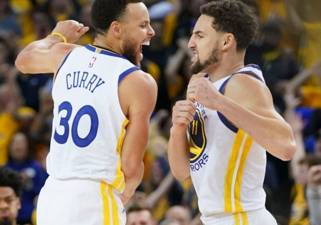 """""""If Klay Thompson returns healthy, only Kyrie Irving's return can stop the Warriors from winning it all!"""": Stephen A Smith credits Stephen Curry and co. for their performance, backs them as NBA Champions"""
