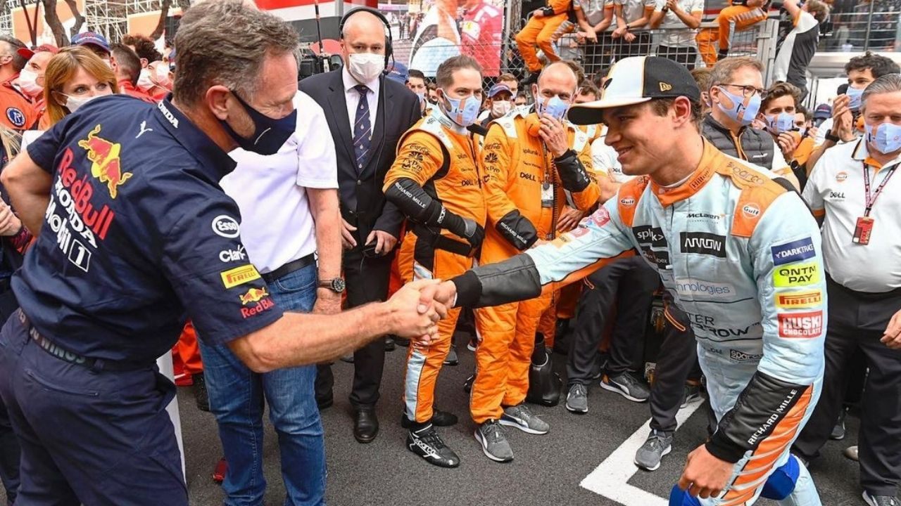 """""""Lando Norris deserved to win the race"""" - Christian Horner is wary of the threat McLaren poses to Red Bull for the remainder of the season"""