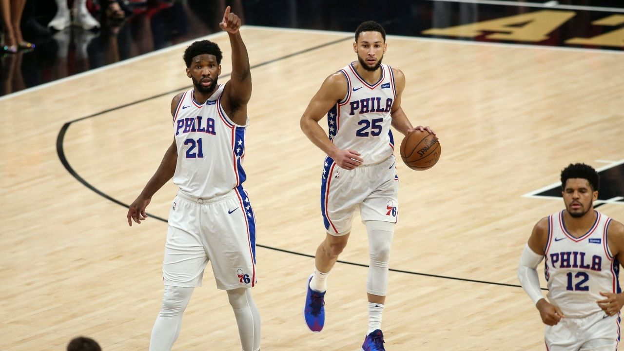 """""""76ers built our team around Ben Simmons' needs"""": Joel Embiid shoots down disgruntled All-Star's claims about fit between the two players"""