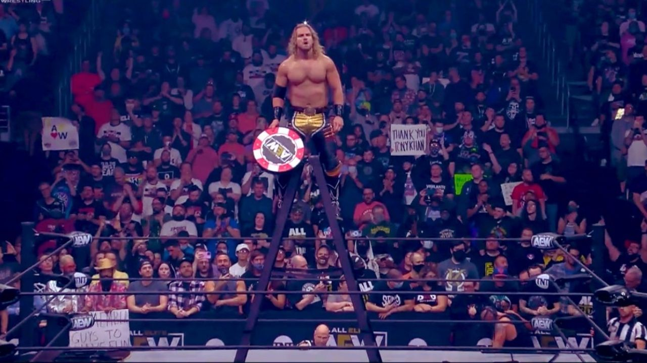 "Hangman Page revealed as ""joker"", wins AEW Casino Ladder Match on Dynamite"