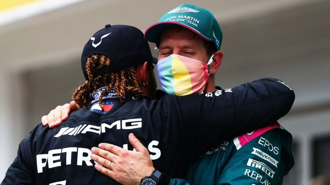 """""""I've been incredibly proud of Sebastian""""– Lewis Hamilton speaks on Sebastian Vettel publicly expressing views on current social issues"""
