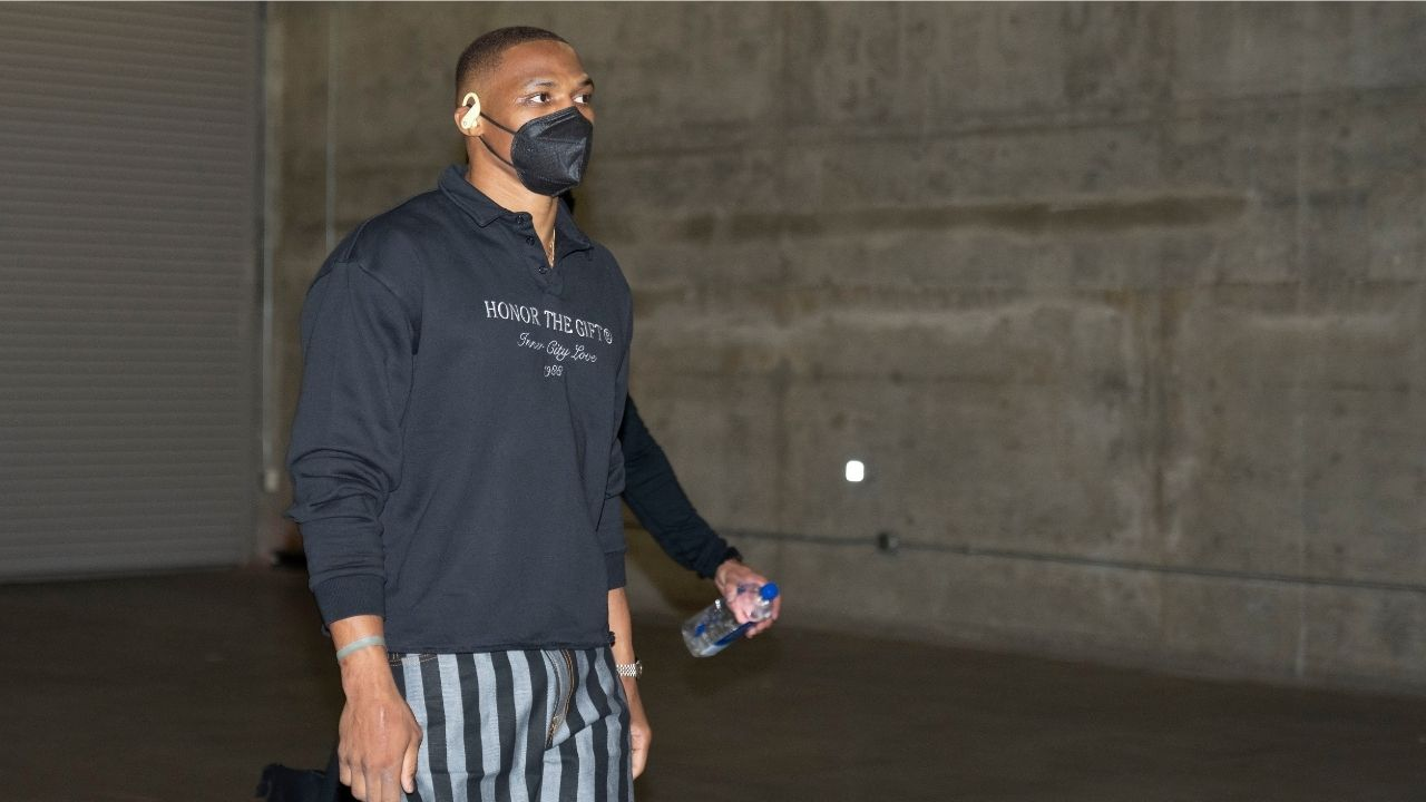 """""""Russell Westbrook wins the poll for the best-dressed player on Lakers roster"""": The former MVPs outfits get a thumbs up from Anthony Davis and Carmelo Anthony"""