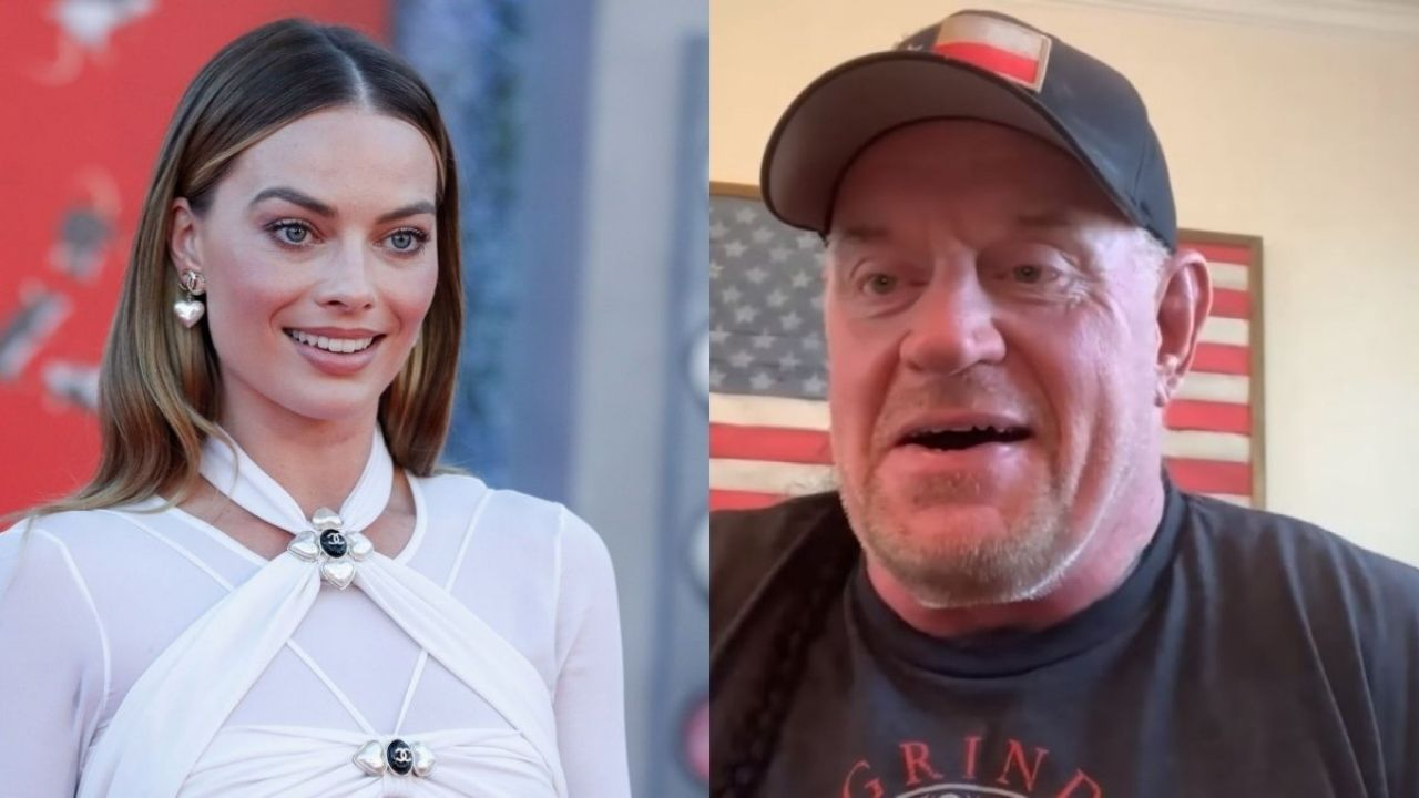 The Undertaker reacts to Margot Robbie saying he was her favorite wrestler