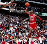 """""""Is a 7-footer big enough?!"""": When Michael Jordan shut a Utah Jazz heckler up by putting their center on a poster following a dunk on John Stockton"""