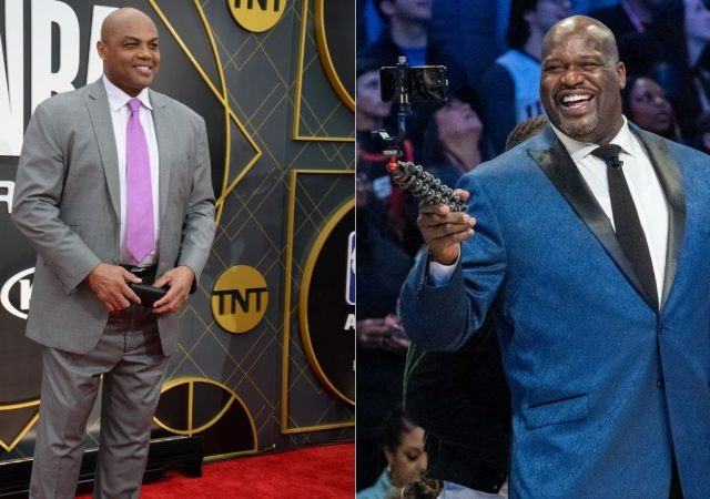 """""""First of all, Charles Barkley, you know nothing about winning back to back championships"""": When Shaquille O'Neal one-upped Chuck and sided with Kenny Smith with 'Rings, Ernie' argument"""