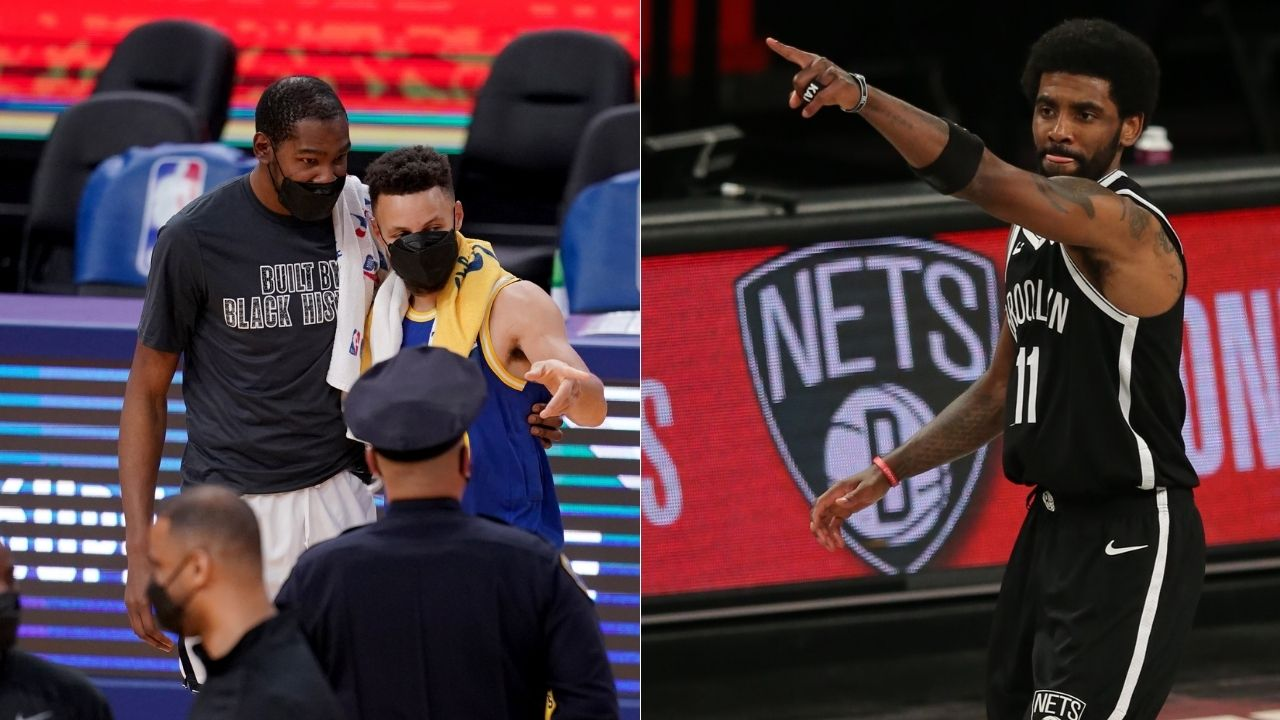 """""""Kyrie Irving recruited Kevin Durant at the tunnel"""": NBA Fans react to tunnel video of 2019 NBA All-Star Game where Nets superstars hatched their superteam plan"""