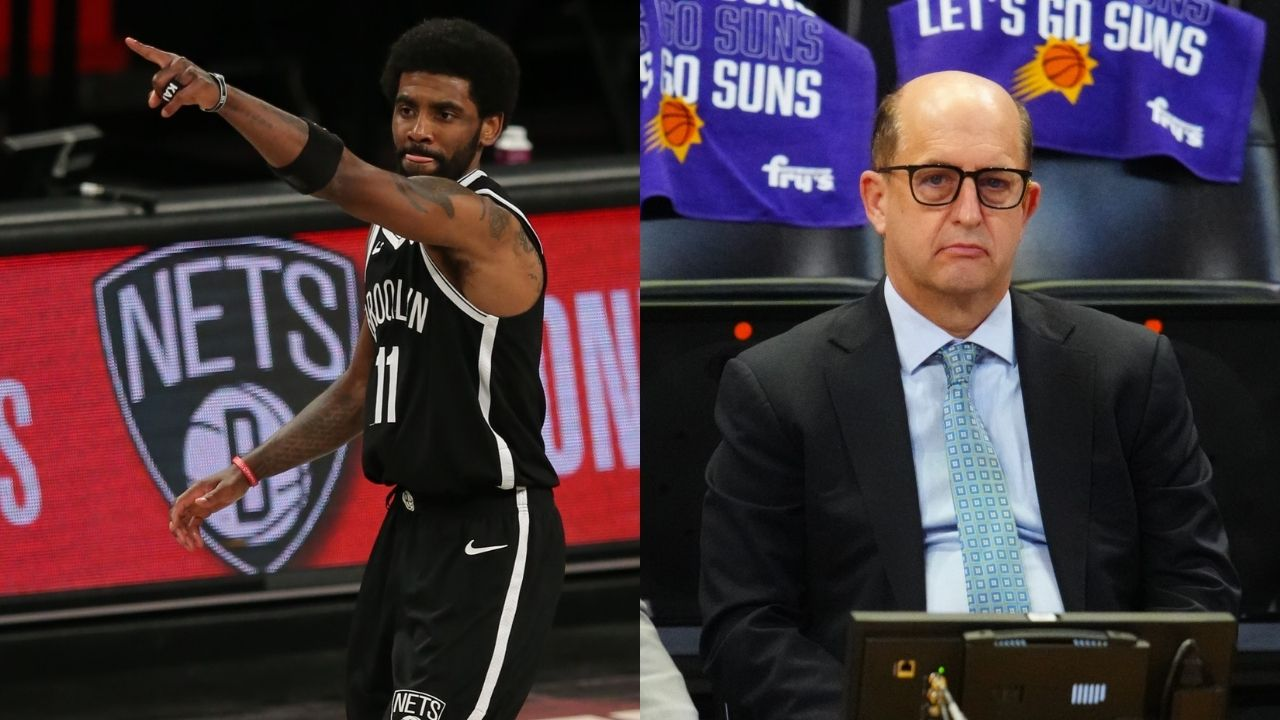 """""""The anti-vax are not without a voice, they're not underground"""": Jeff Van Gundy rubbishes Kyrie Irving's statements of being the voice for the voiceless"""