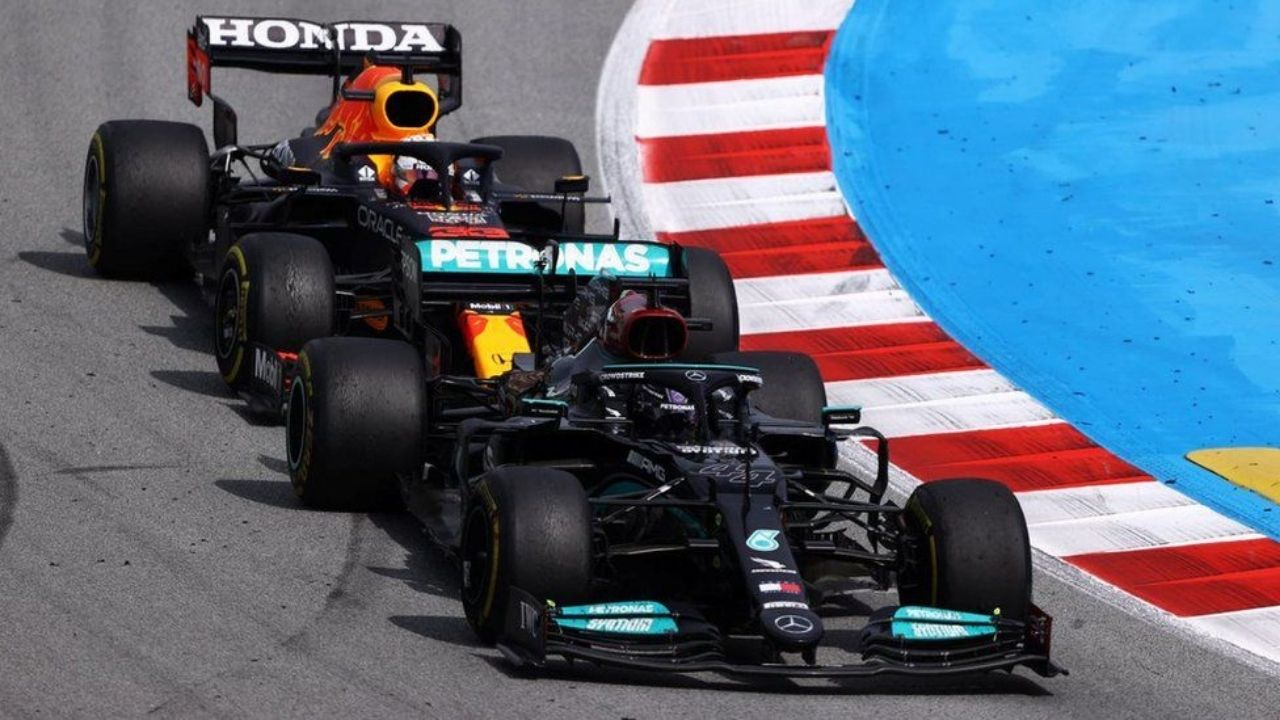 """""""Lewis [Hamilton] just feels threatened by Max""""– Max Verstappen's father highlights insecurity of seven-time world champion after Red Bull ace challenged him"""