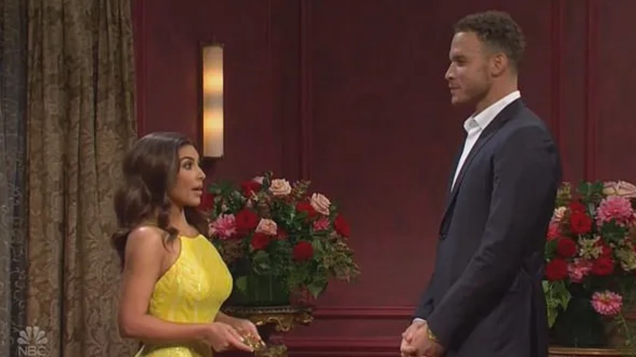 """""""Why is Blake Griffin going after Kendall Jenner's sister, Kim Kardashian?!"""": NBA Twitter reacts to the Nets' star playing a part in Kim's skit on Saturday Night Live"""